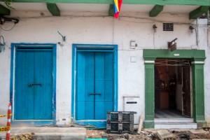 Cartagena - Bunte Türen
