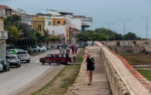 Cartagena - Spaziergang auf der Stadtmauer