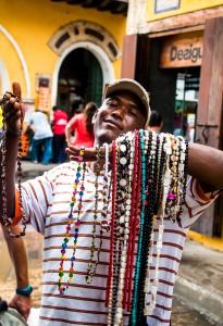 Cartagena - Schmuckverkäufer