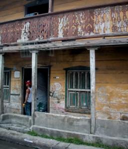 Cartagena - verfallene Häuser