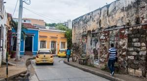 Cartagena - Graffiti im Viertel Getsemaní