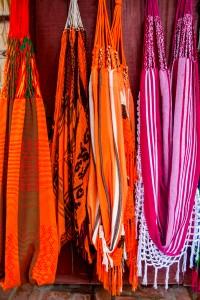Cartagena - bunte Hängematten