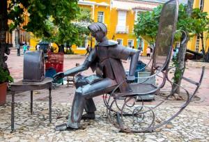 Cartagena - Rostschaukelstuhl