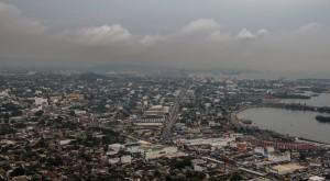 Cartagena - Cerro de la Popa - Blick auf eine graue Stadt