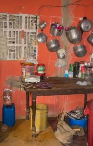 Palenque - Küche