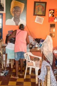 Palenque - Kunst und Bügeln