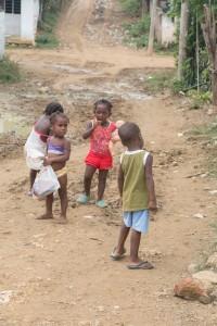 Palenquee - spielende Kinder