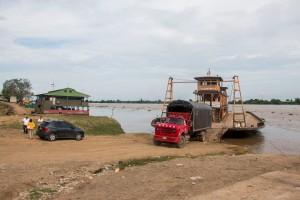 Fähre über den Rio Magdalena nach Mompox