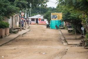 Palenque - Straße