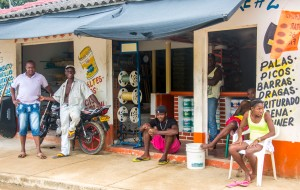 Palenque - Geschäft