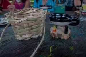 Kaffeekörbchen und Tasse