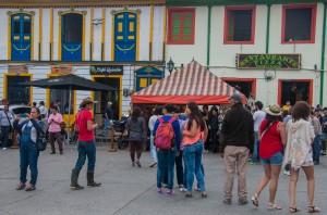 Solento - belebter Hauptplatz