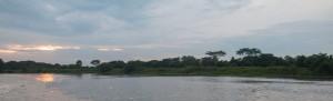 Mompox - Abendstimmung am Rio Magdalena