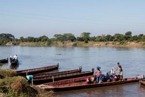 Fähre über den Rio Magdalena