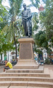 Mompox - Denkmal