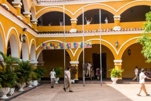 Mompox - Schule