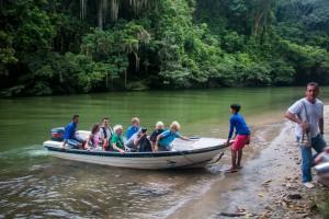 Bootsfahrt auf dem Rio Don Diego