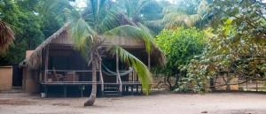 Hütten am Palomino Strand