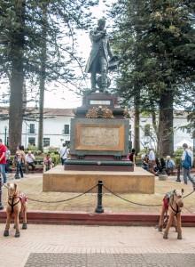 Popayán - Denkmal