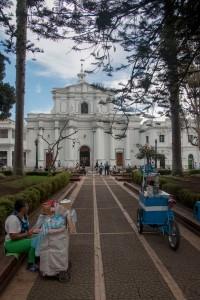Popayán - Hauptplatz