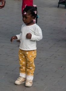 Popayán - kleines Mädchen
