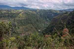 San Augustin - Landschaft