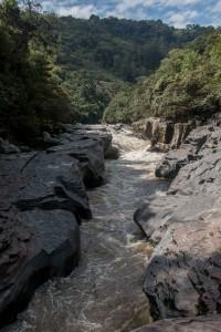 San Augustin - Rio Magdalena - schmalste Stelle