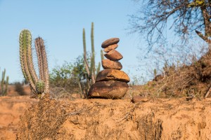 Tatacoa Wüste - Steinmännchen