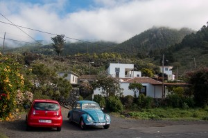 El Jedey - kleiner Ort an den Westhängen von La Palma