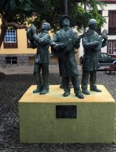 Santa Cruz de La Palma - Denkmal zur Erinnerung an die Weihnachtssänger