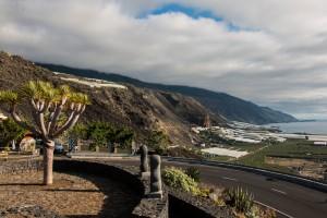 Puerto Naos an der Westküste