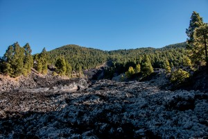 Volcán San Juan - Wandern über den Lavastrom