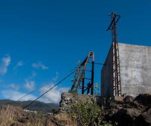 La Palma - Lastenaufzug in Tijarafe