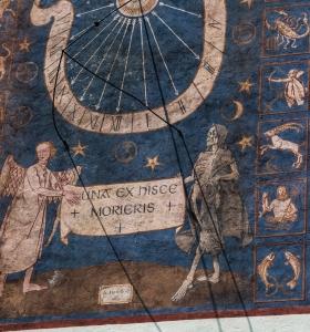 ...an einem dieser Tage wirst Du sterben...Sonnenuhr Kloster Andechs