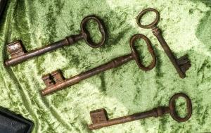 Rostige Schlüssel