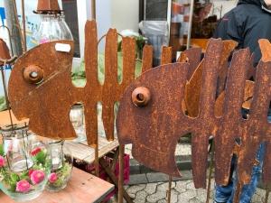 Rostiger Fisch für das Wohnzimmer oder besser doch für den Garten?