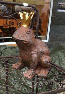 ein Froschkönig zum Mitnehmen