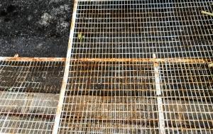Rostige Zäune - besser nicht aufstellen