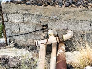 Rostiges Rohr - besser nicht benutzen