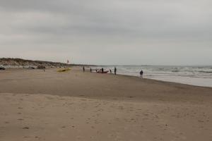 jede Menge Strand zum Laufen, Fahren und Schwimmen (?)