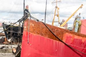 Flensburg - Rost im Hafen